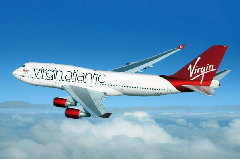Virgin Atlantic Boeing 747 Aircraft