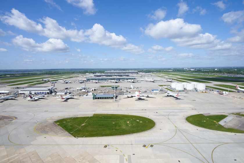 London Heathrow Terminal 5A, May 2020