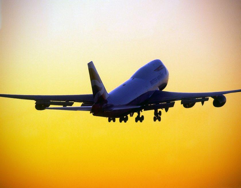 British Airways Boeing 747, London Heathrow