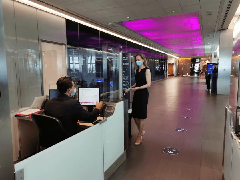 British Airways Heathrow Lounge Reopening July 2020
