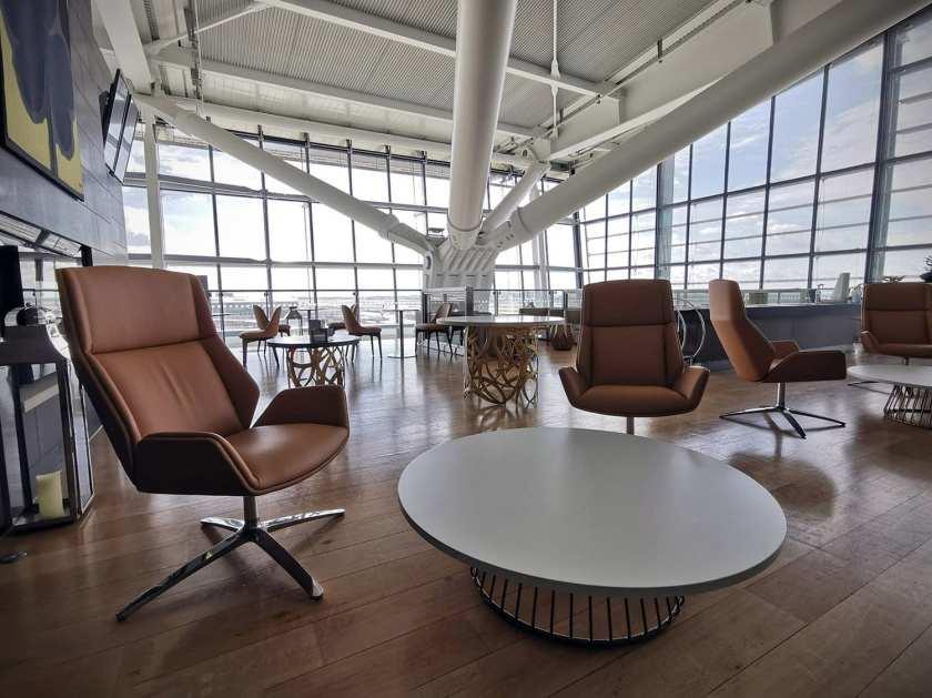 British Airways, Galleries First Lounge Terrace, London Heathrow Terminal 5
