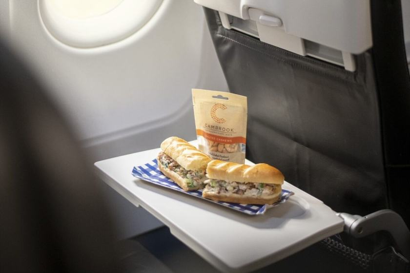 British Airways, Short Haul Economy Speedbird Cafe, January 2021