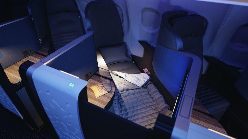 JetBlue Airbus A321 Mint Suite