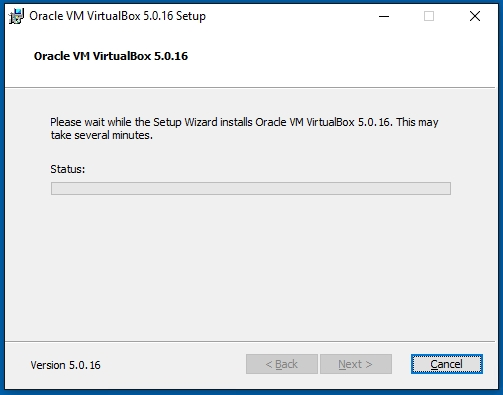 VirtualBox Oracle VM VirtualBox Installing