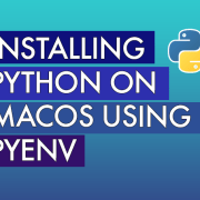 blog title with the python logo