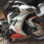 One Off 2010 Triumph Daytona 675 Gulf Colours Classified Ads Londonbikers Com