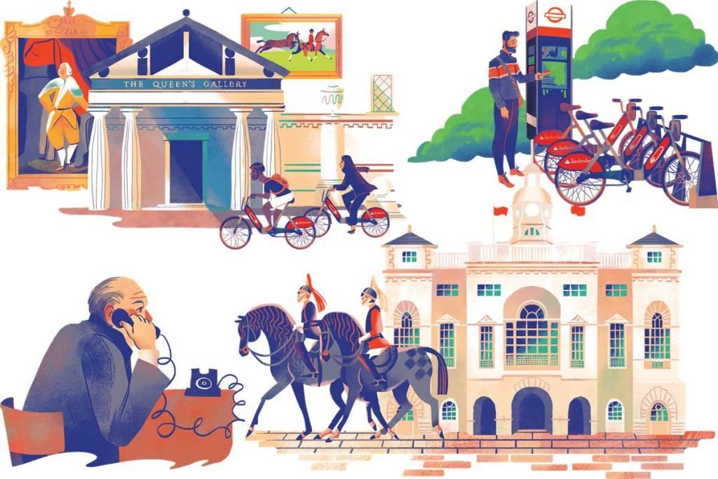Cycle the Sights Santander Cycles Royal loop