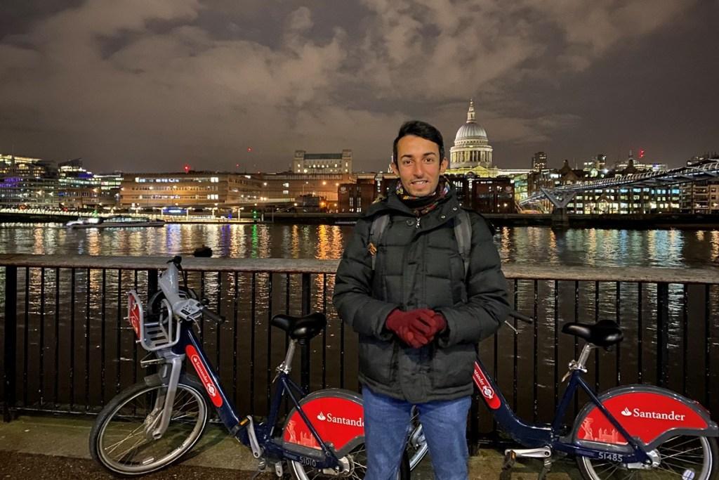 Photo of Sakhr January cycle hire hero