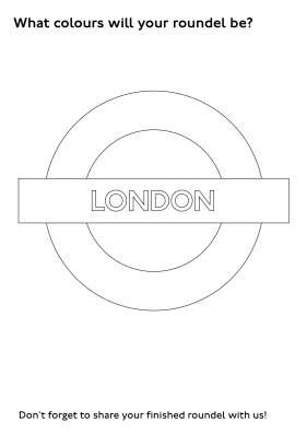 Line art London roundel