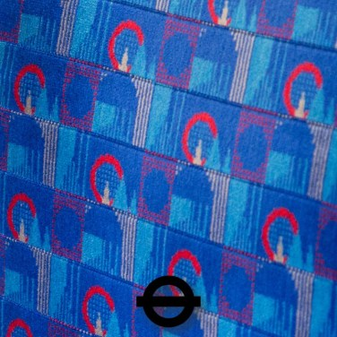Central and Northern lines moquette