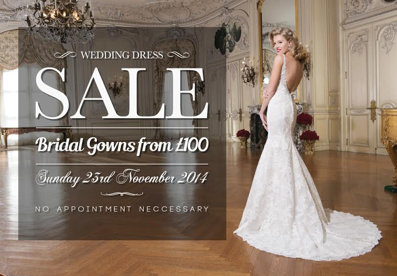 London Bride's Wedding Dress Sample Sale November 2014