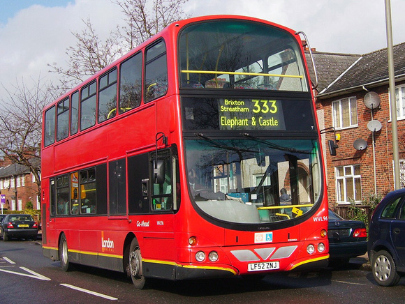 london bus routes route 333 elephant castle tooting broadway