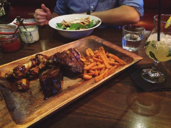 Ribs & Wings at Sticky Fingers Kensington London