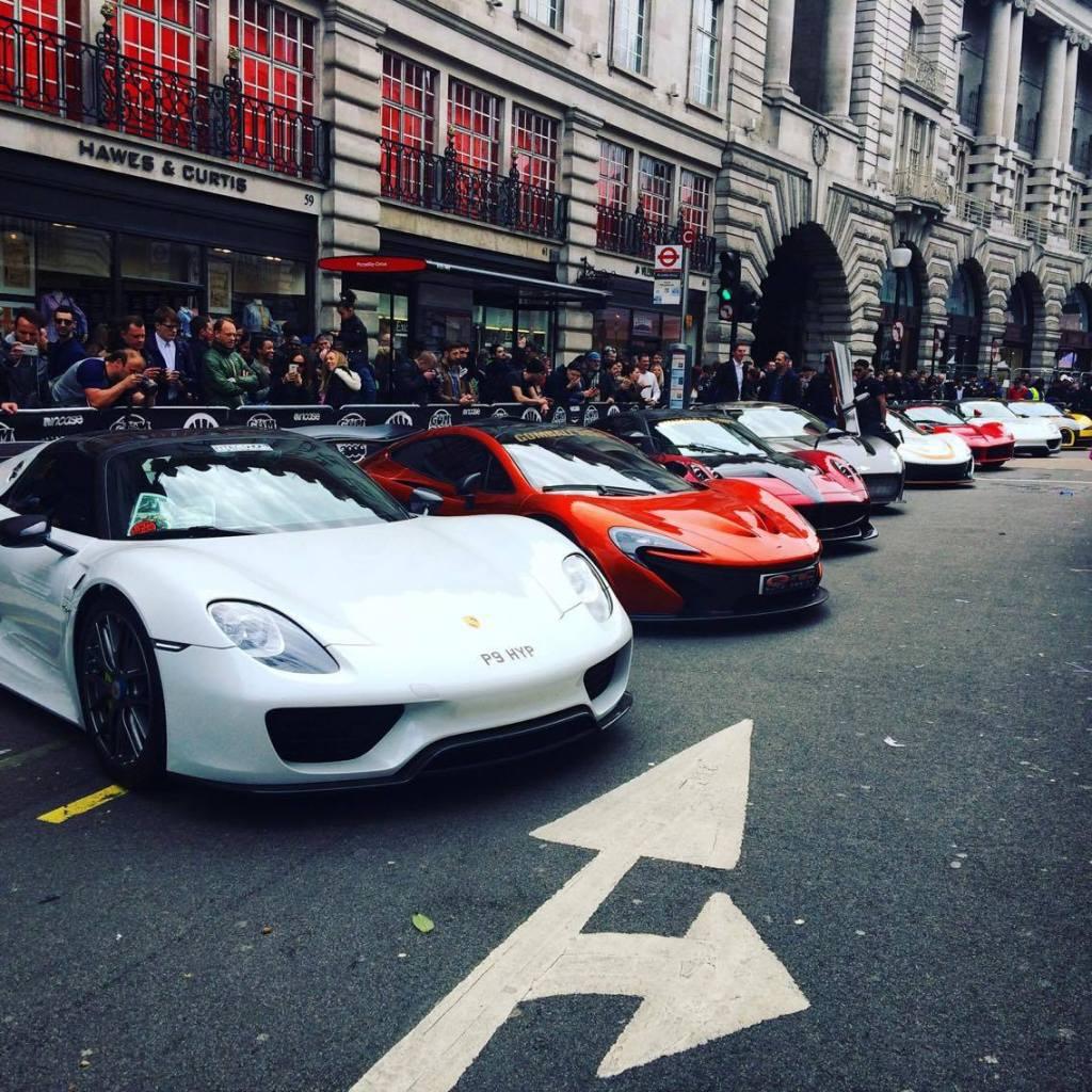 Gumball 3000, Regent Street