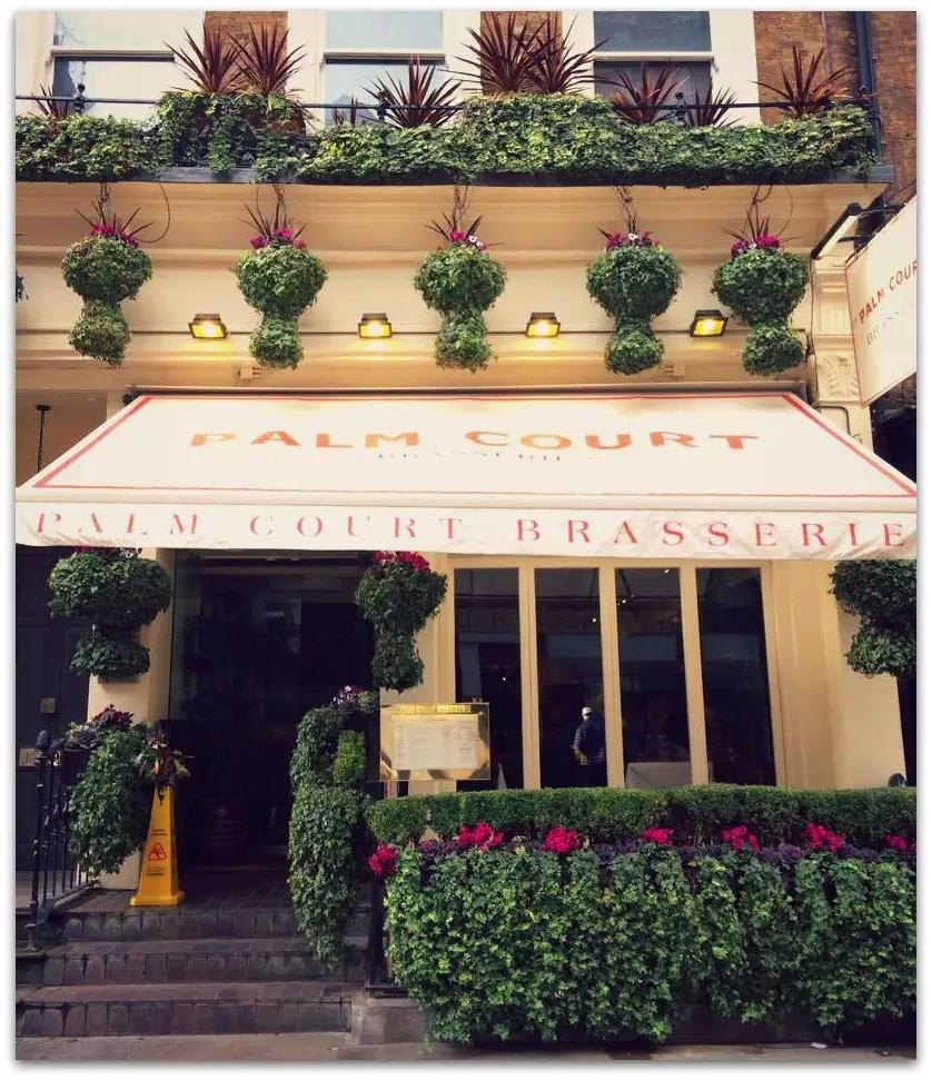 Sunday Lunch @ Palm Court Brasserie, Covent Garden
