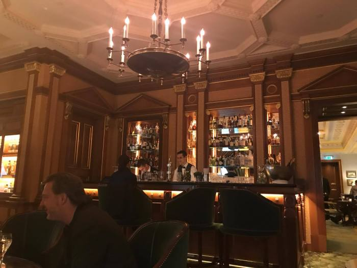 The Library Bar at The Lanesborough Hotel