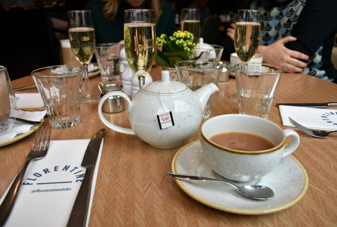 Tea and Bubbles at Florentine