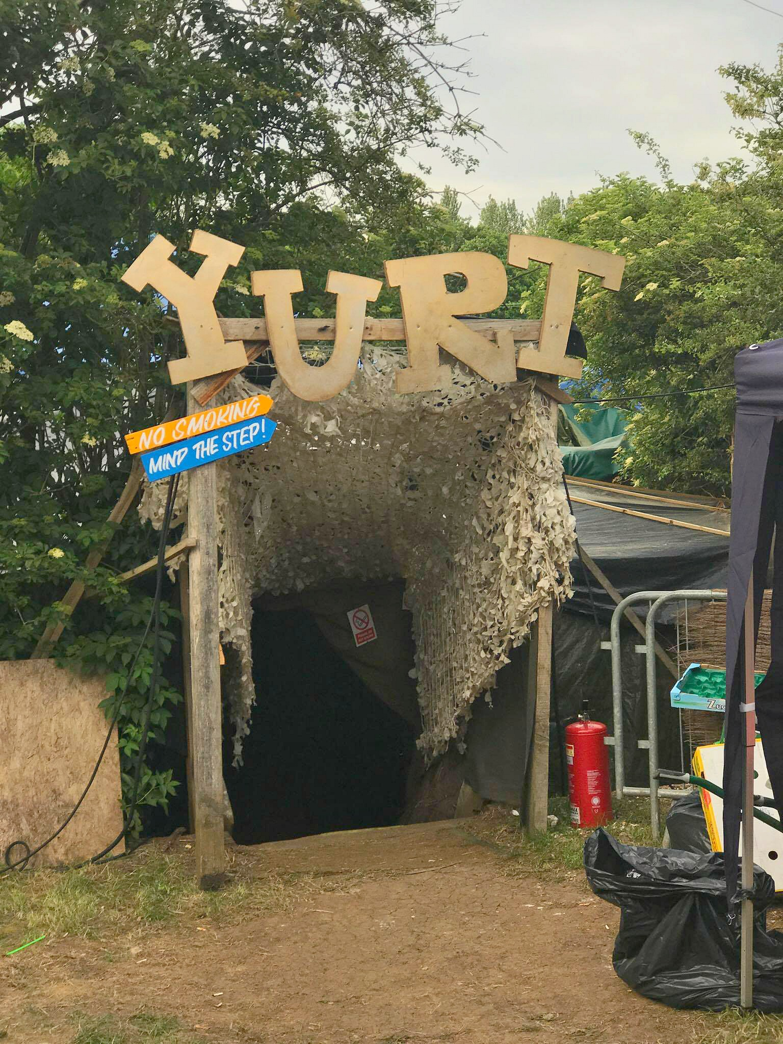 HogSozzle Yurt
