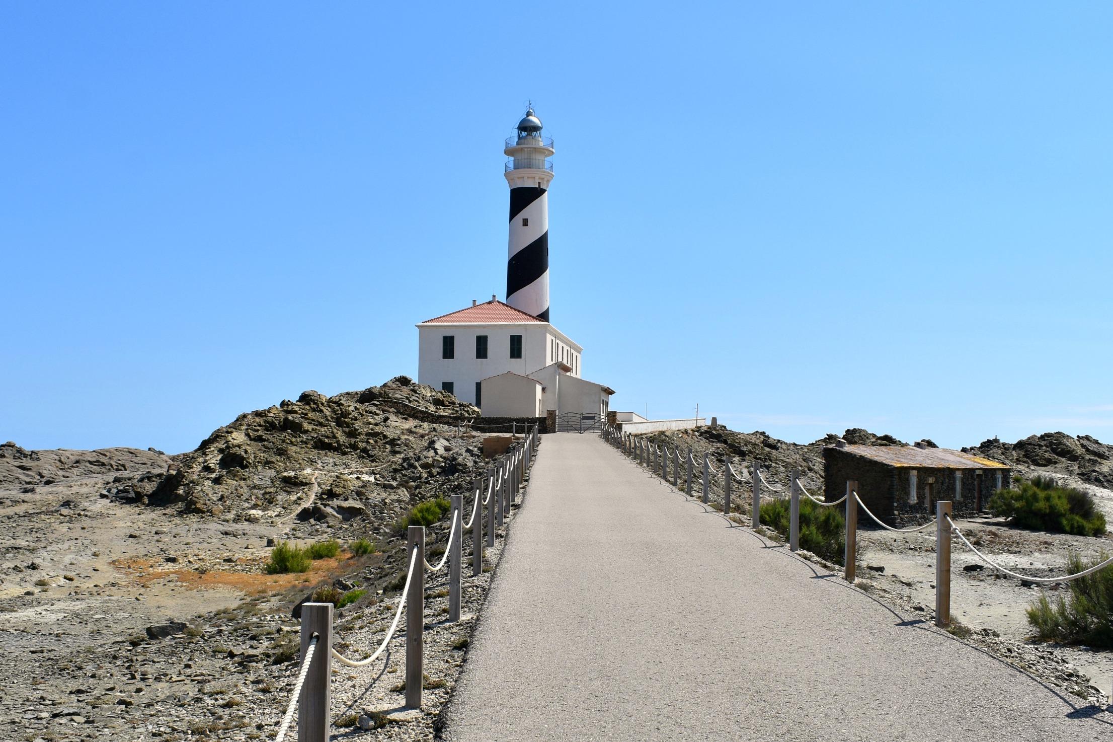 Menorca Favaritx Lighthouse