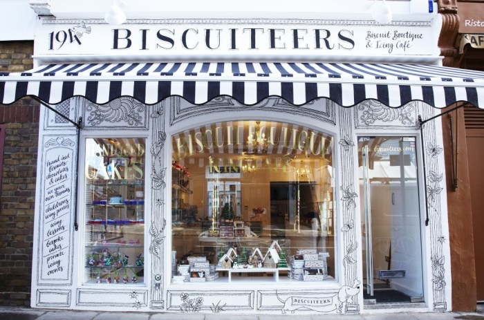 Biscuiteers Icing Cafe, London
