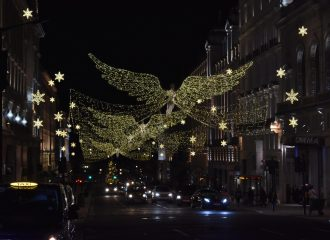 Regent Street London Christmas Lights