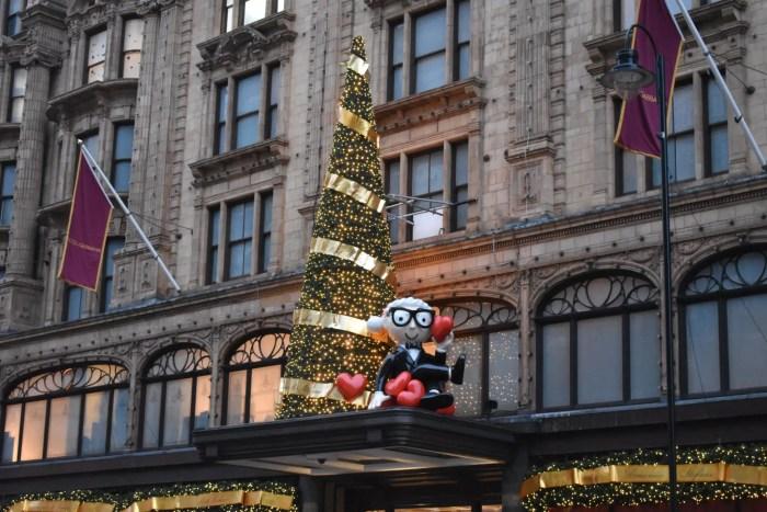 Harrods Christmas London