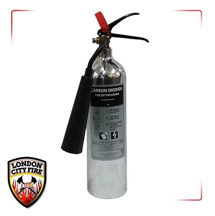 Polished Fire Extinguishers London City Fire