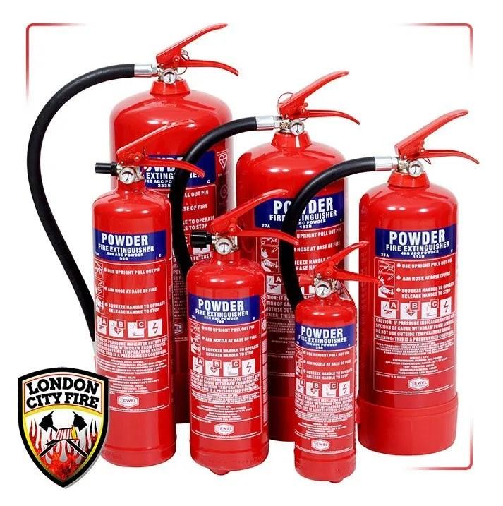 Power Fire Extinguishers London City Fire