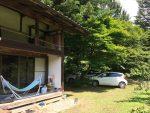 長野の古民家にて友人ファミリーと、ザ・日本の夏休み