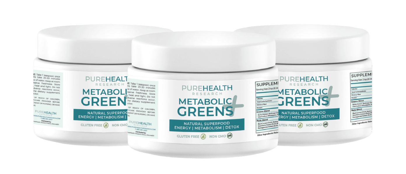 Metabolic Greens Plus Reviews Does Pure Health Metabolic Greens