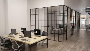 London Interior Office Visualisations by Alberto Battaglia / MB Visualisation