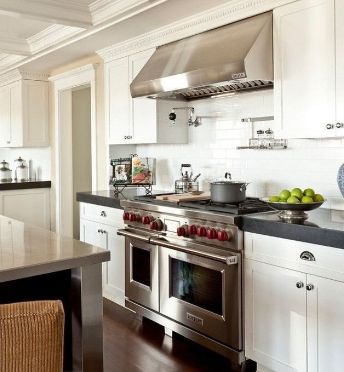 Designer Appliances For The Modern Home - Wolf Range Cooker