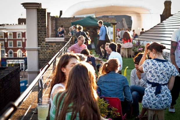 Five Reasons to Run Your Business from London - Dalston Roof Park