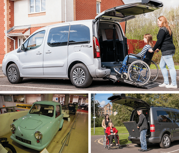 Accessibility Through The Ages - Disability cars