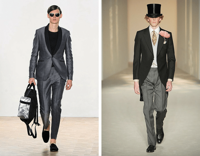 London: The Capital Of Menswear - London Collections Men - Suits