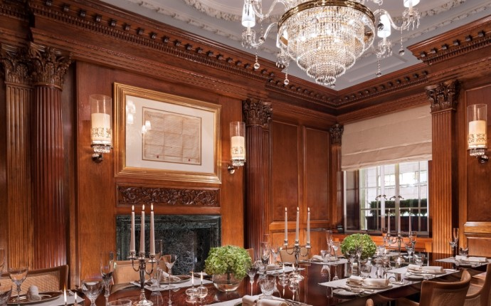 Living in Edwardian Luxury with Rosewood London - Sir George Dining Room