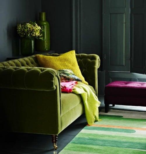 10 Stunning Velvet Chesterfield Sofas
