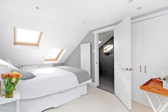 Style Tips For Small Homes - Small Loft Bedroom