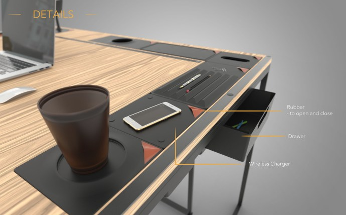 Table Concept - By Bruce Chou, On Behance