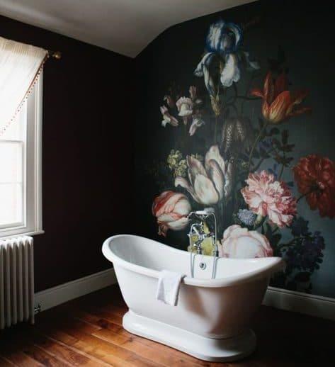 9 ways to spruce up your bathroom- Bathroom Mural