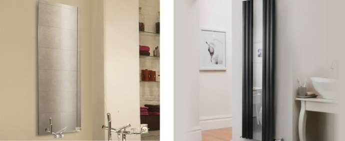 9 ways to spruce up your bathroom- Designer Mirrored Radiators From DeaignerRadiatorShowroom.co.uk