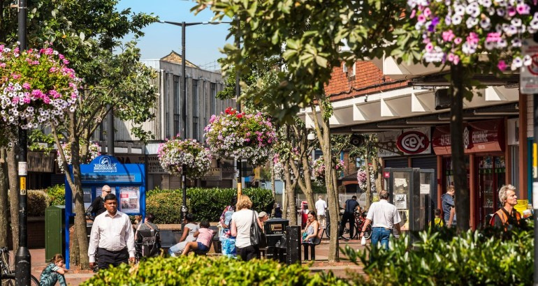 Where should you invest in London? 3 up-and-coming property hotspots - Waltham Cross, London - Image Via broxbourne.gov.uk