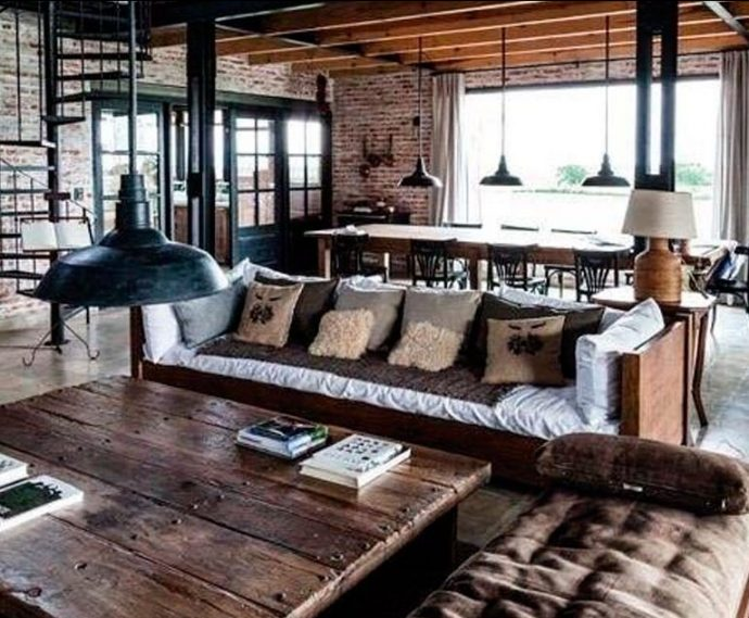How to create a masculine living space