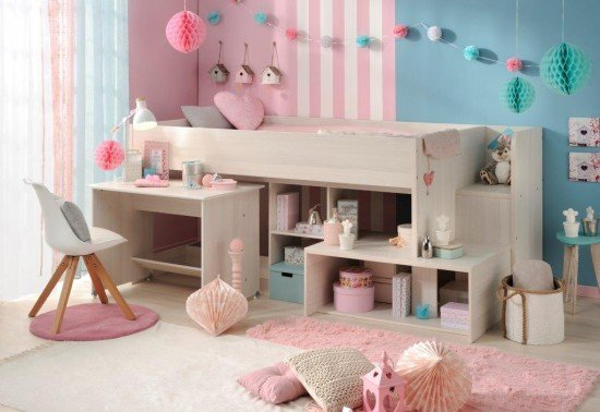Benefit Of A Good Bed For Kids - The Parisot Higher Midsleeper - Image From BedKingdom.co.uk