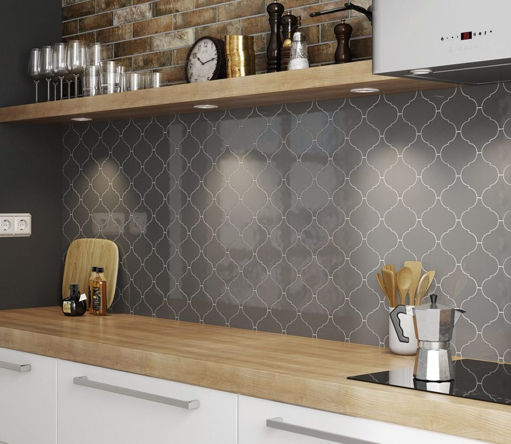 4 Tile Trends To Watch Out For In Spring 2019 - Alhambra Dark Grey Wall Tiles - Image From CrownTiles.co.uk