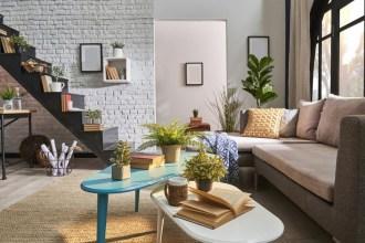 Lounge with corner sofa