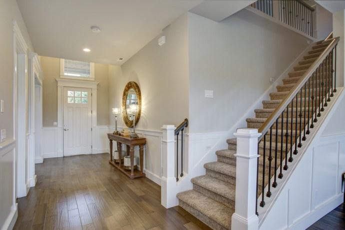 Hallway, Staircase and Lighting