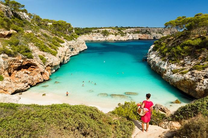 Calo des Moro, Mallorca. Spain.