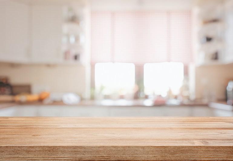 Kitchen work surface, Kitchen worktop.