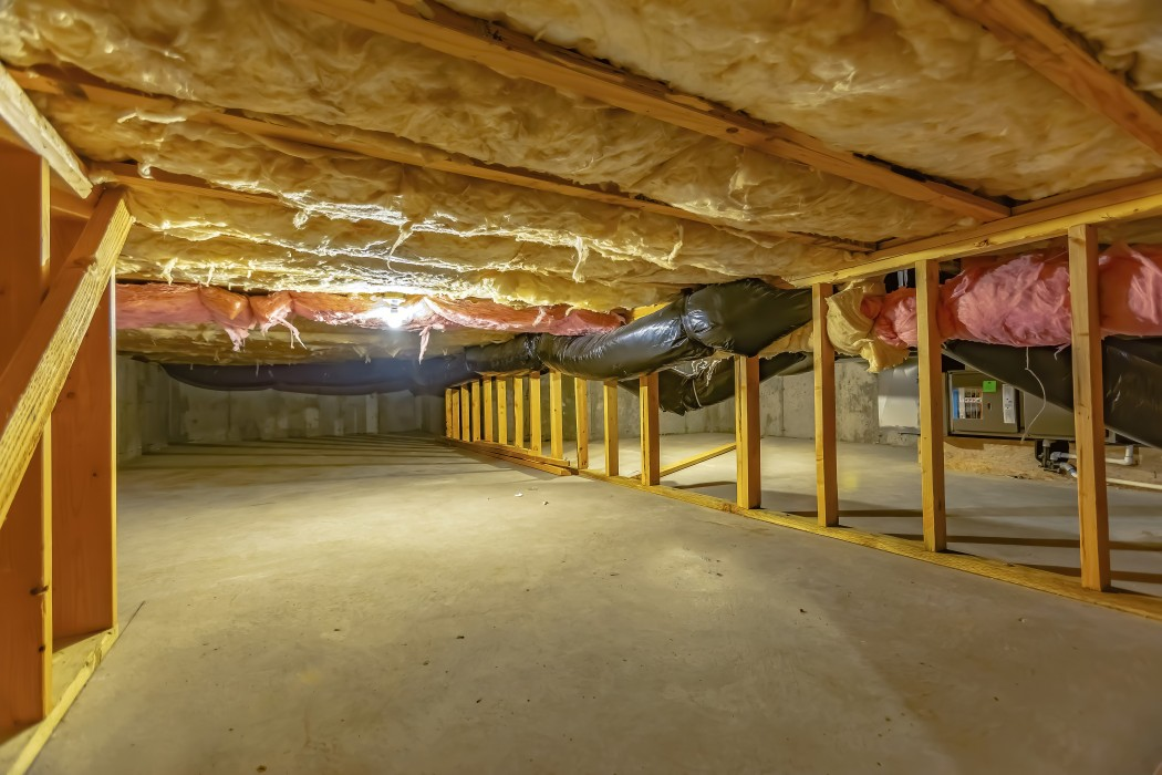 Crawl Space in property